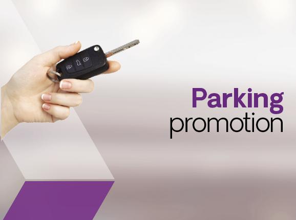 Parking promotion