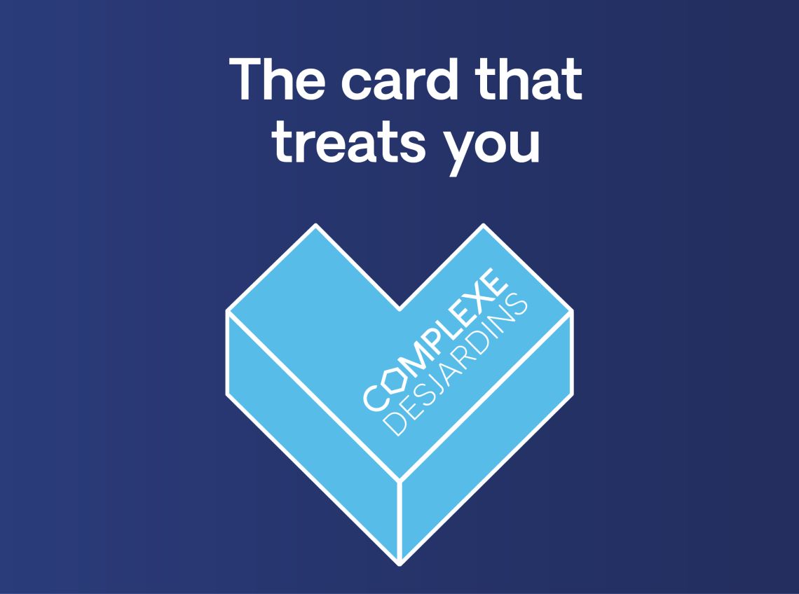 The card that treats you